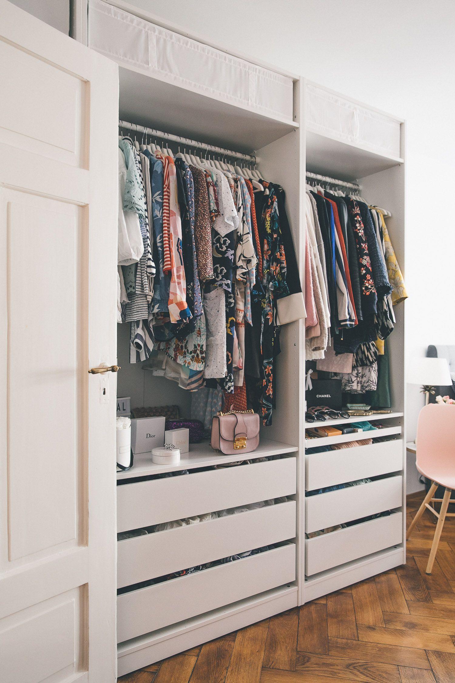 montags update 115 mein kleiderschrank ein tolles. Black Bedroom Furniture Sets. Home Design Ideas
