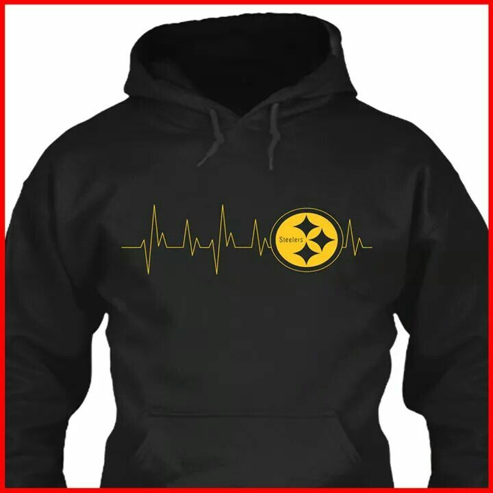 outlet store 0c90c 42abc Steelers Cardiac Hoodie | Steeler Country | Pittsburgh ...