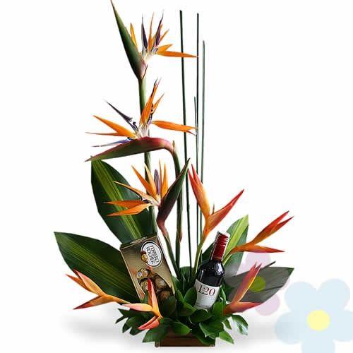 Arreglo Exotico Paraiso Arreglos Florales Arreglos