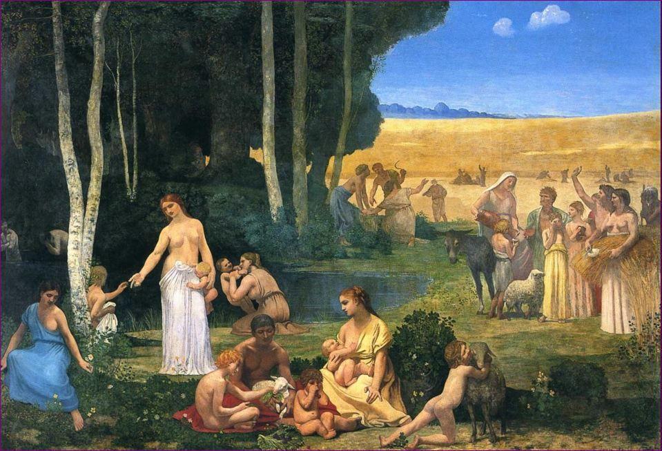Pierre Puvis de Chavannes - Summer