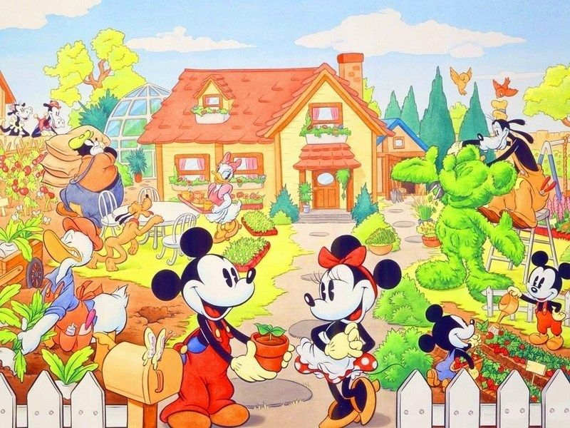 Home Sweet Home Mickey Disney Mickey Mouse Fondo De