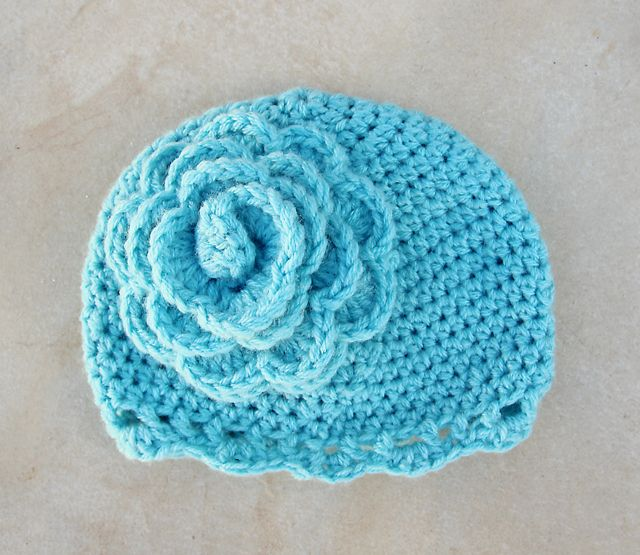 Crocheted Children\'s Cloche With Giant Flower | Giant flowers ...