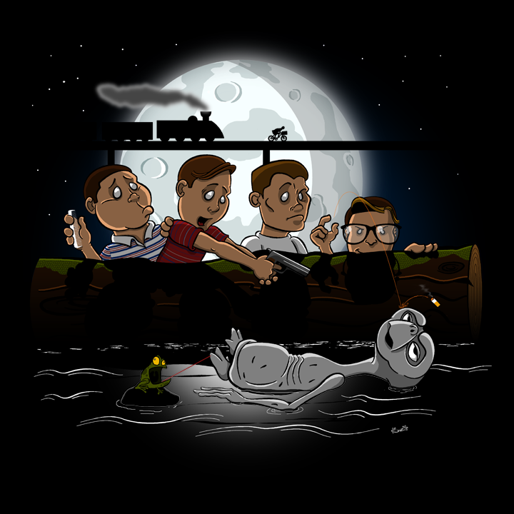 Stand By E.T. final version geek shirts