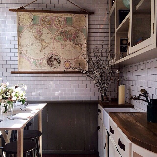 Pin by A. Periwinkle on KITCHEN & DINING   Kitchen dining ...