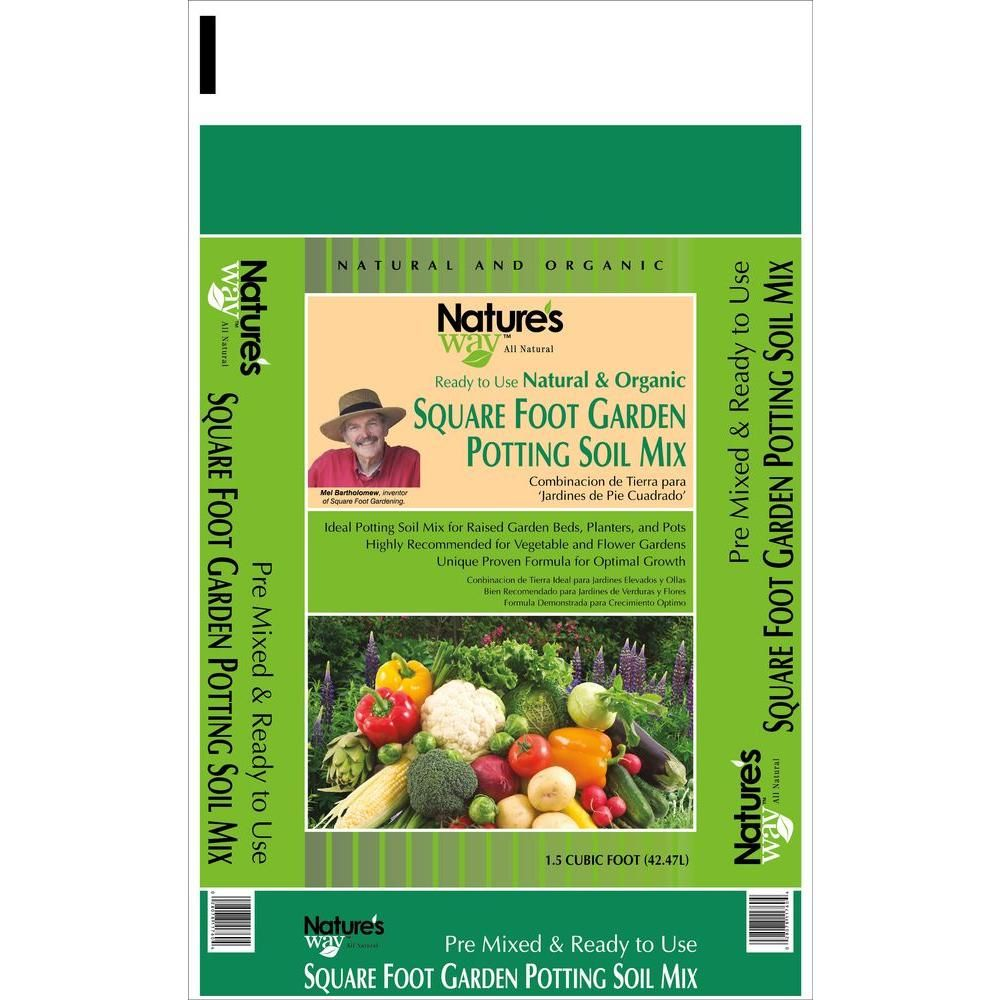 Garden Time's Square Foot Gardening Potting Soil