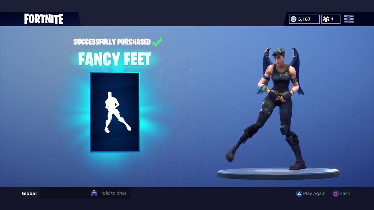 New Fancy Feet Emote Dance Fortnite Item Shop Today September 2