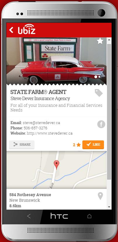 Steve Dever State Farm Agent Saint John, New Brunswick