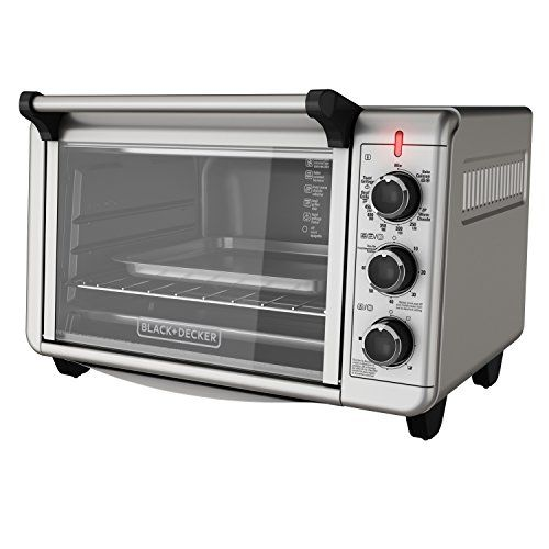 Black Decker To3210ssd 6 Slice Convection Countertop Toaster Oven
