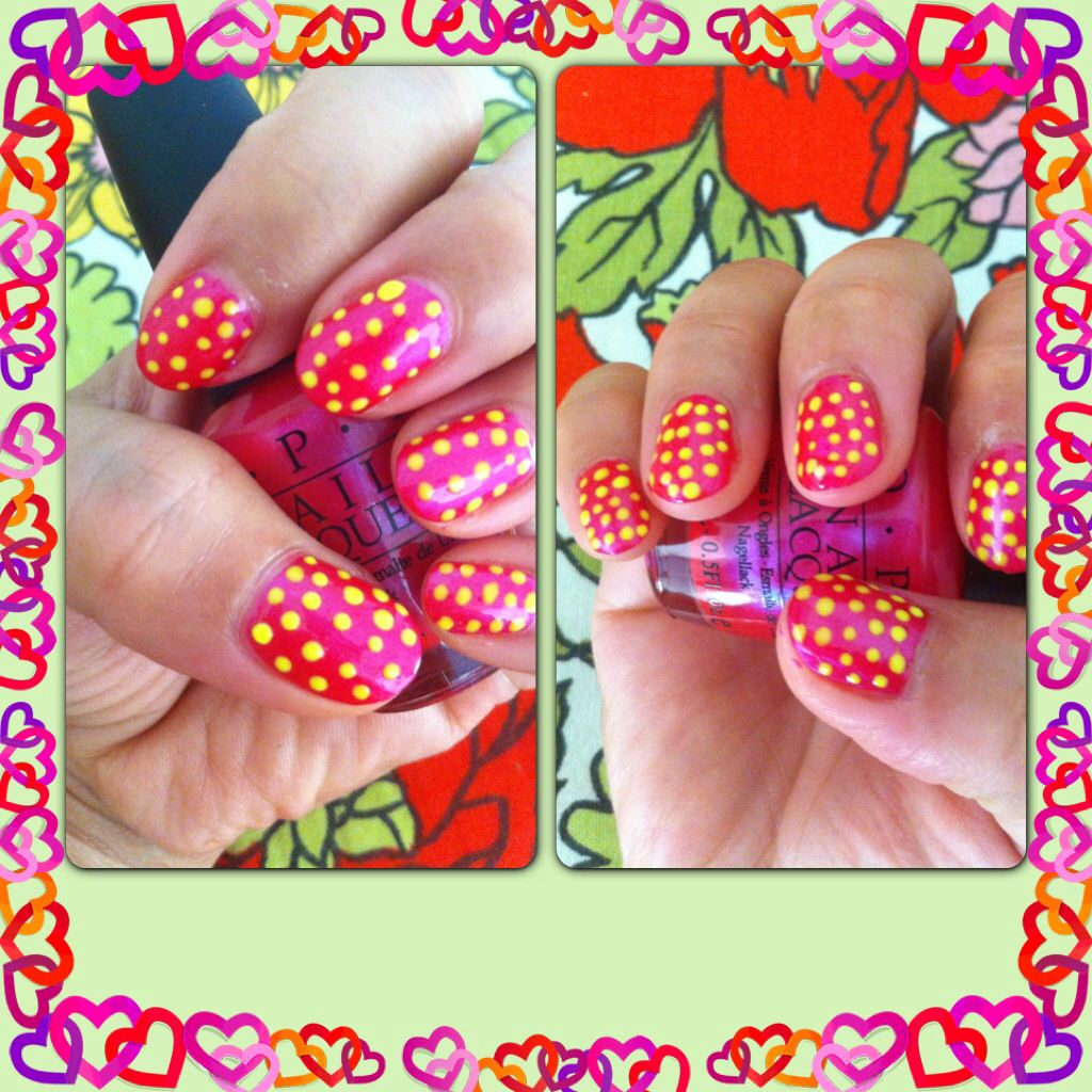 Do u like dots so do i very easy to do itus simple yet nice to