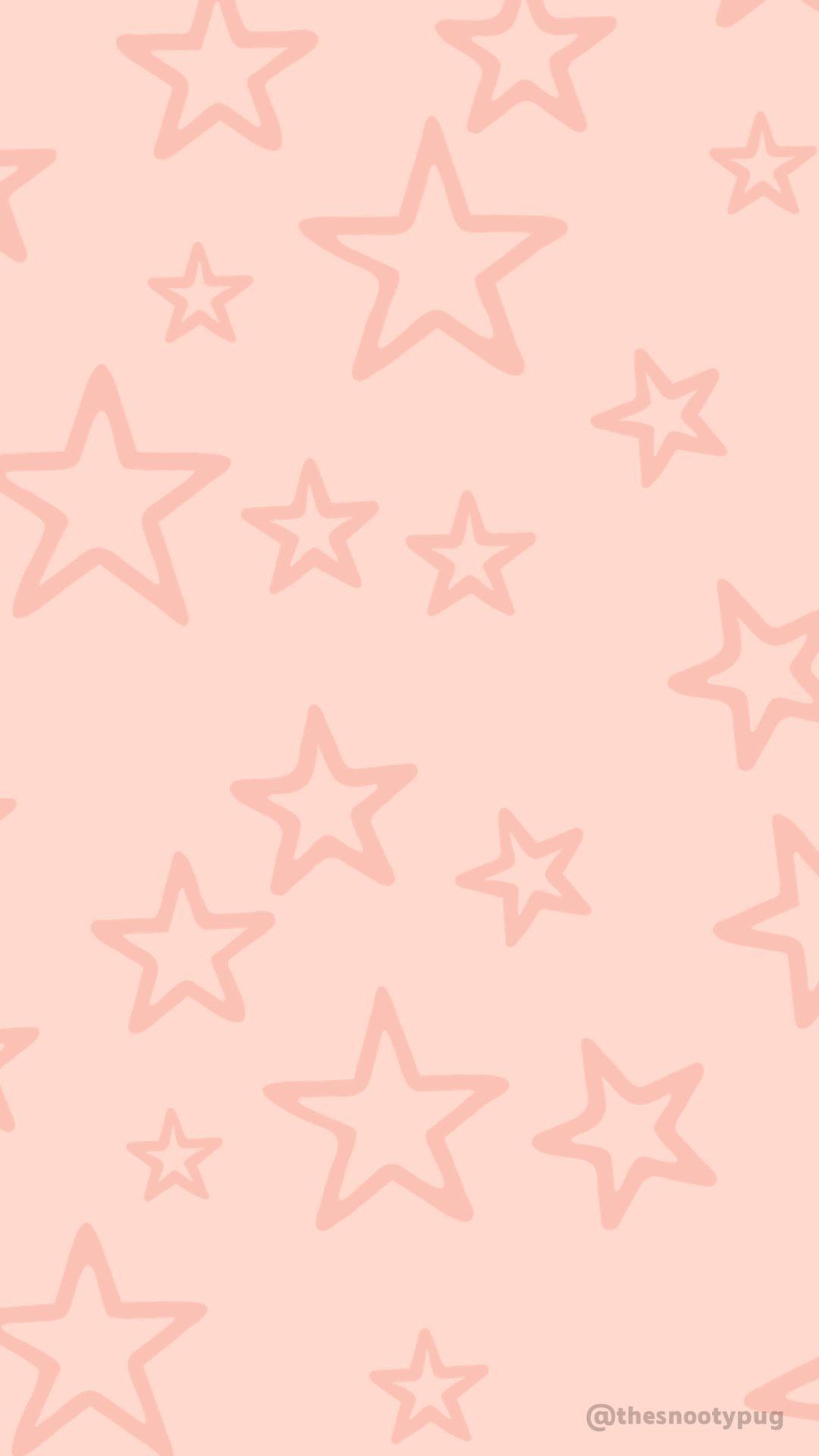 Pink Star Wallpaper Star Wallpaper Iphone Background Wallpaper Artsy Background