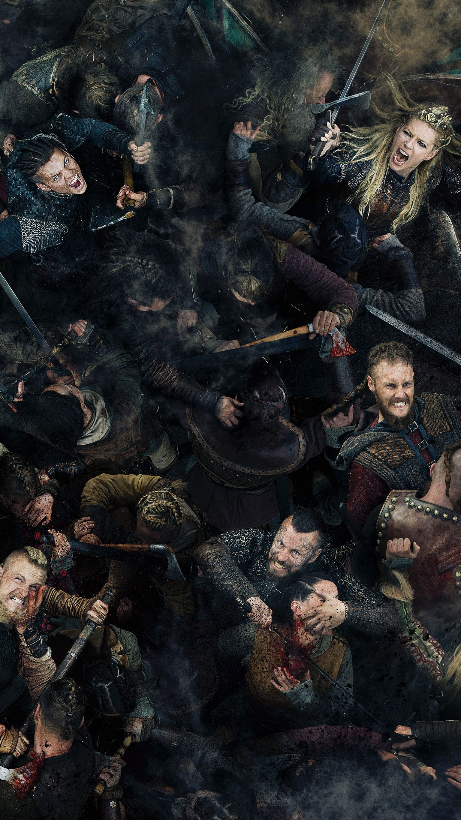 A Gallery Of Vikings Publicity Stills And Other Photos Featuring Travis Fimmel Katheryn Winnick Alexander Ludwig Clive Standen Others