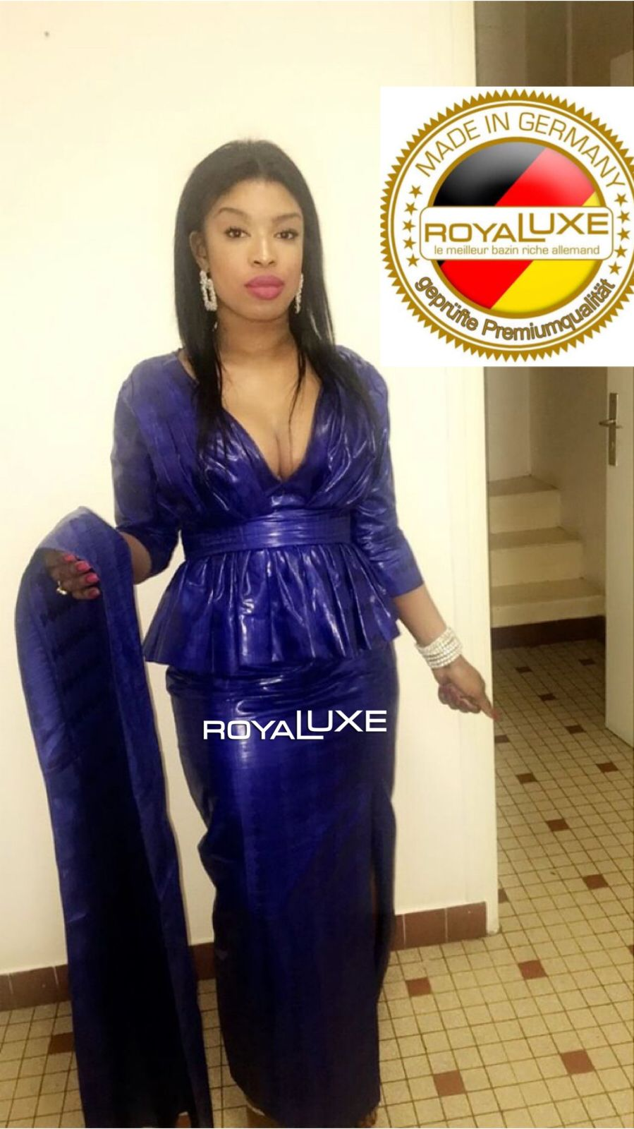 Royaluxe Senegal African Attire African Fashion Dresses