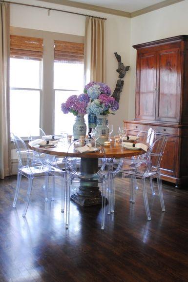 Lesueur Interiors Meg Lonergan Wood Table Decor Dining Room Remodel Dining Room Inspiration