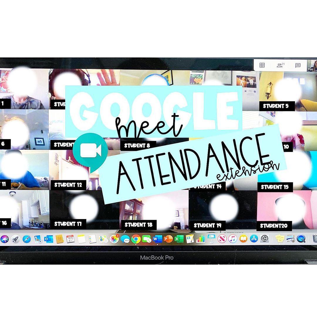 Allison On Instagram Google Meet Attendance Extension Install This Google Chrome In 2020 Google Chrome Extensions Digital Learning Classroom Google Chrome