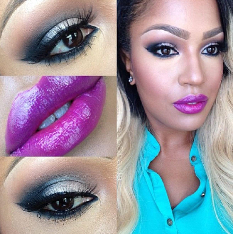 MakeupShayla rockin' FrankieRoseCosmetics Shayla's