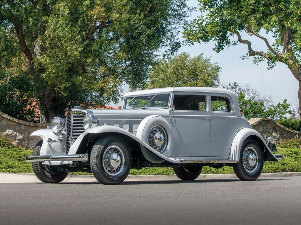 1933 Marmon Sixteen Victoria Coupe at Monterey RM auction this ...
