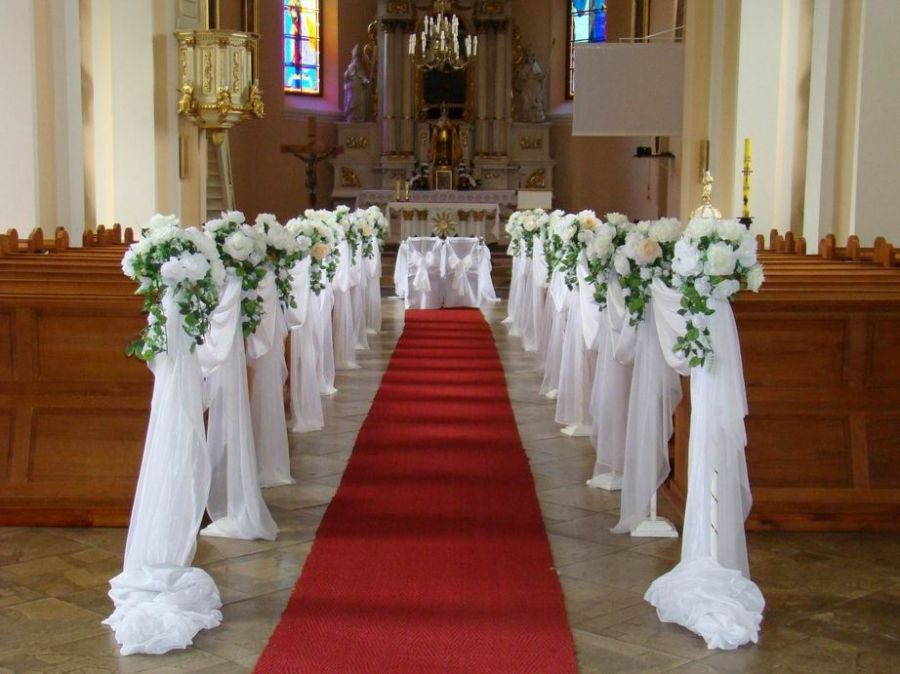 Masywnie Znalezione obrazy dla zapytania przybranie kościoła na ślub HV08