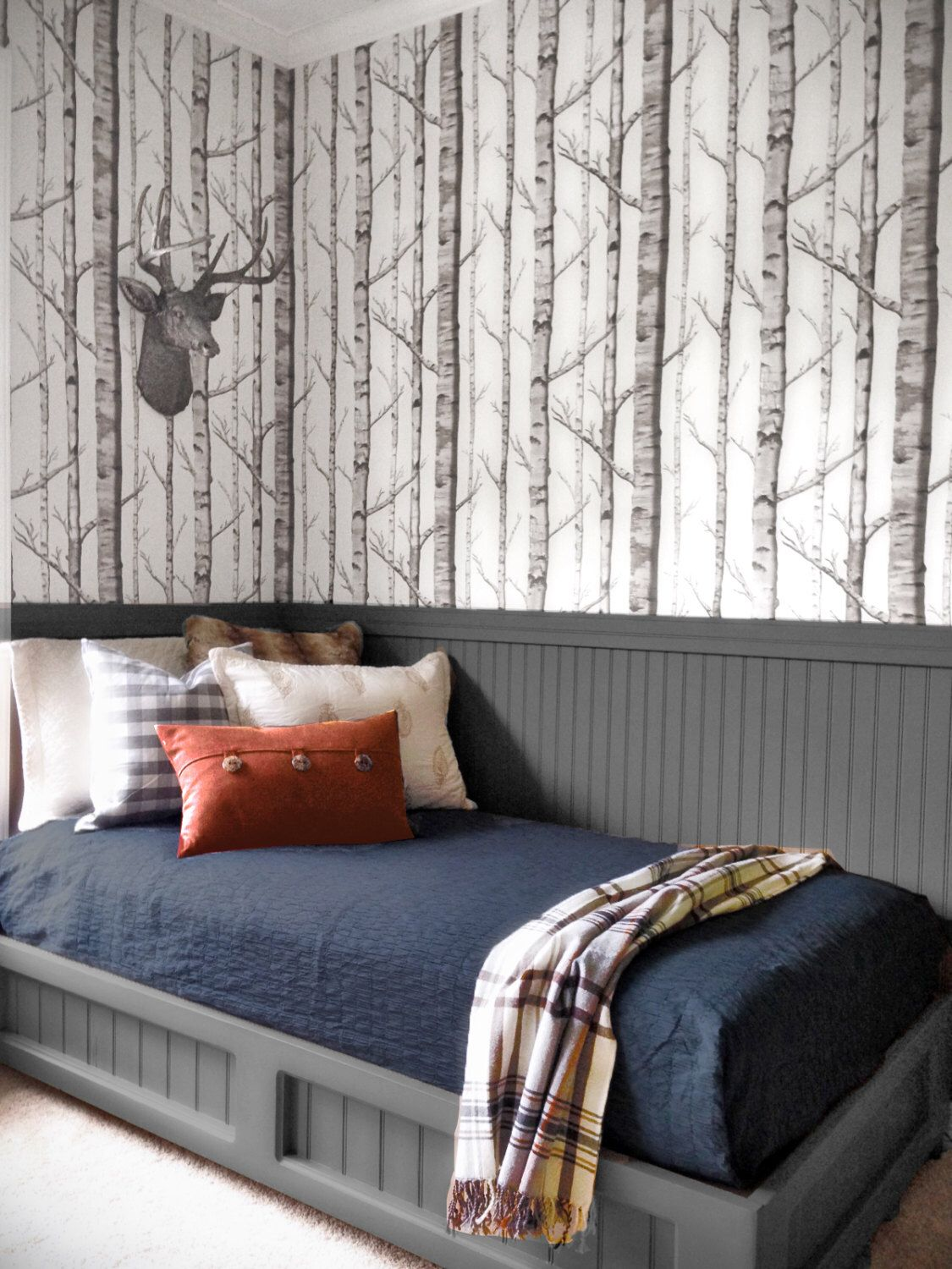Birch Forest Removable Peel N Stick Wallpaper