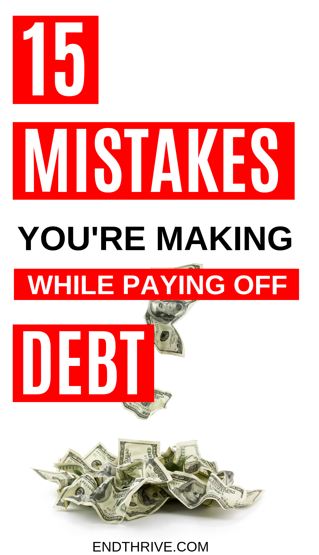 15 Mistakes You Re Making While Paying Off Debt