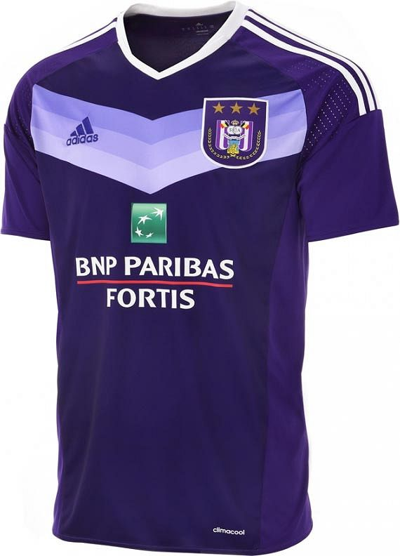 Adidas apresenta as novas camisas do Anderlecht - Show de Camisas ... 7ced123b0b7e8