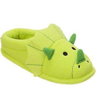 9ea228e54aab5 Dearfoams Kid s Novelty Clog Slippers