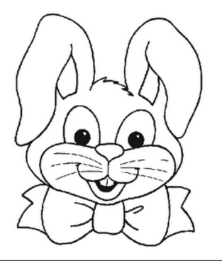 Easter Bunny Coloring Pages Printable Archives Gobel Page ...