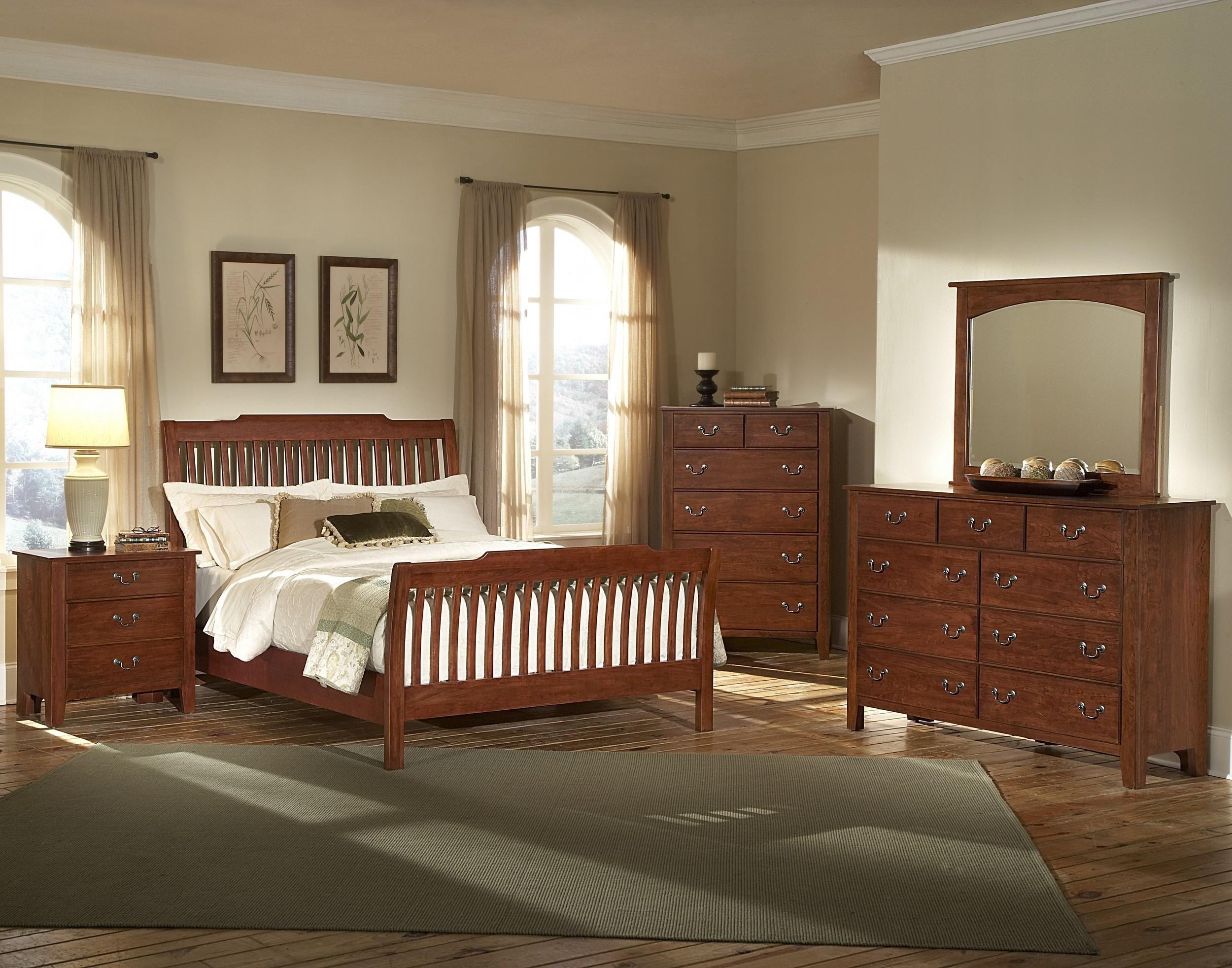 Vaughan Bassett Furniture Appalachian Hardwood Simply