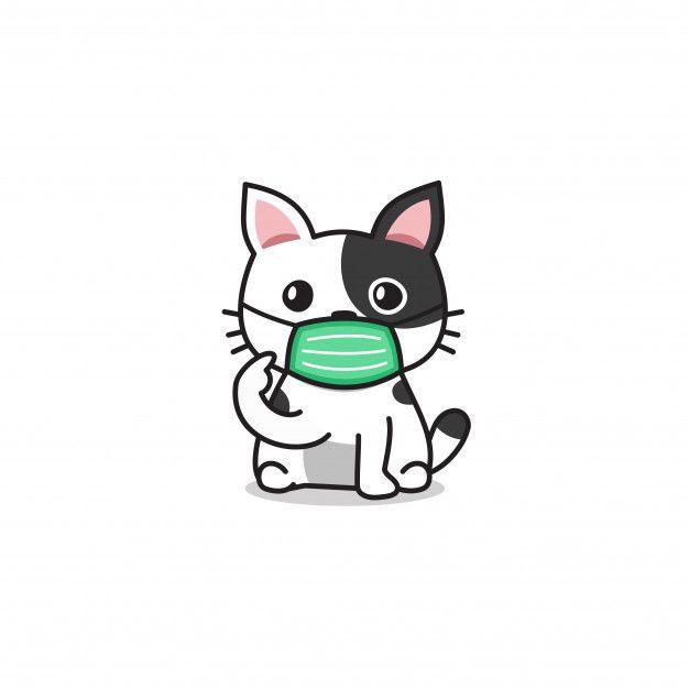 Personaje De Dibujos Animados Lindo Gato Premium Vector Freepik Vector Medico En 2020 Logotipo De Gato Dibujos Dibujos Animados Personajes