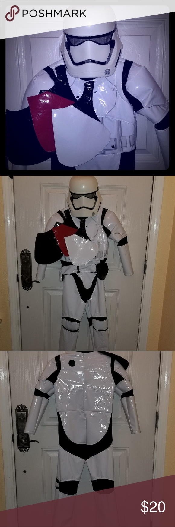 Multi rank Star Wars Stormtrooper Costume Boys Disney Store