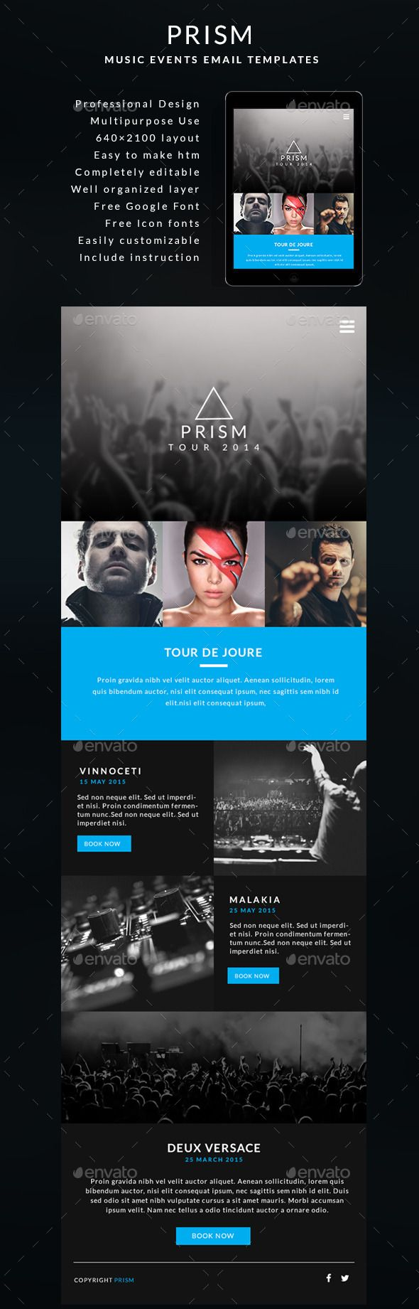 Pin By Best Graphic Design On E Newsletter Templates Templates