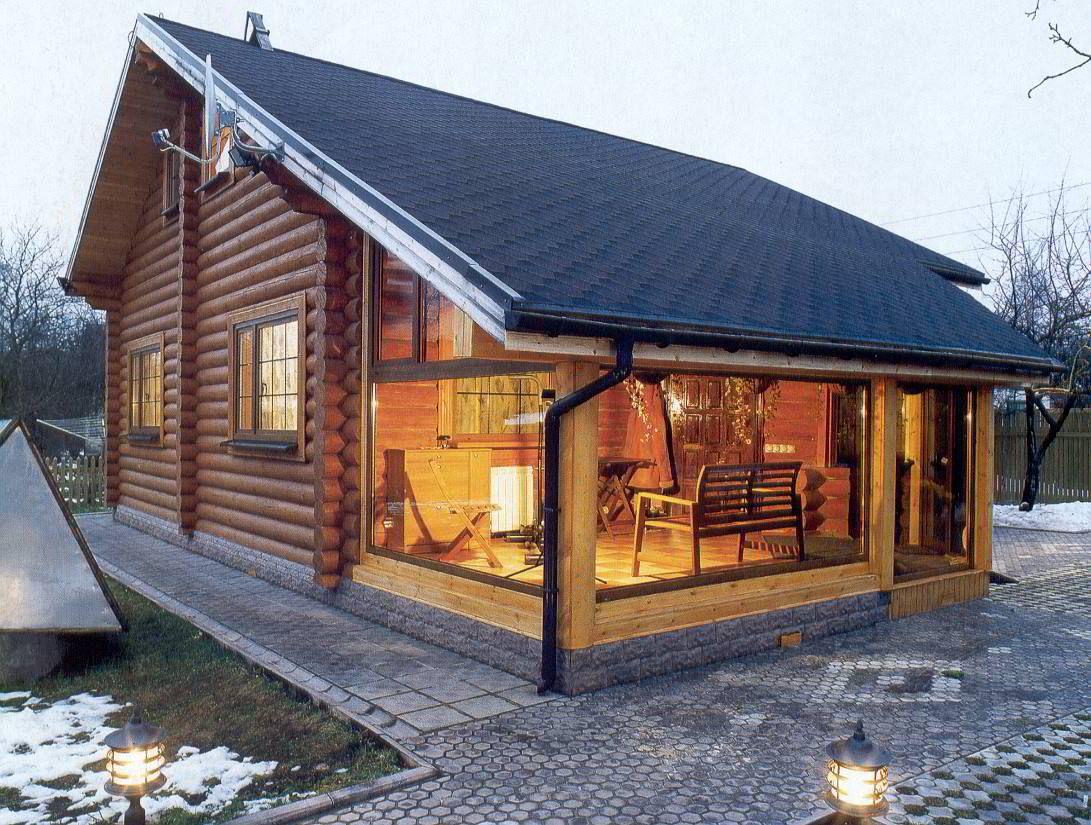 Современные дачные дома   Деревянные дома, Дом, Загородный дом