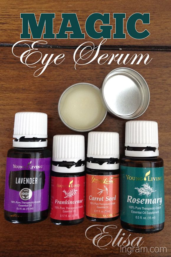 Tuesday S Tip Natural Solutions To Get Rid Of Under Eye Bags Dark Circles Or Eye Puf Eye Serum Essential Oils Living Essentials Oils Essential Oils For Face