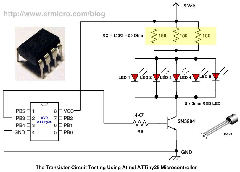 Using Transistor As A Switch Ermicroblog