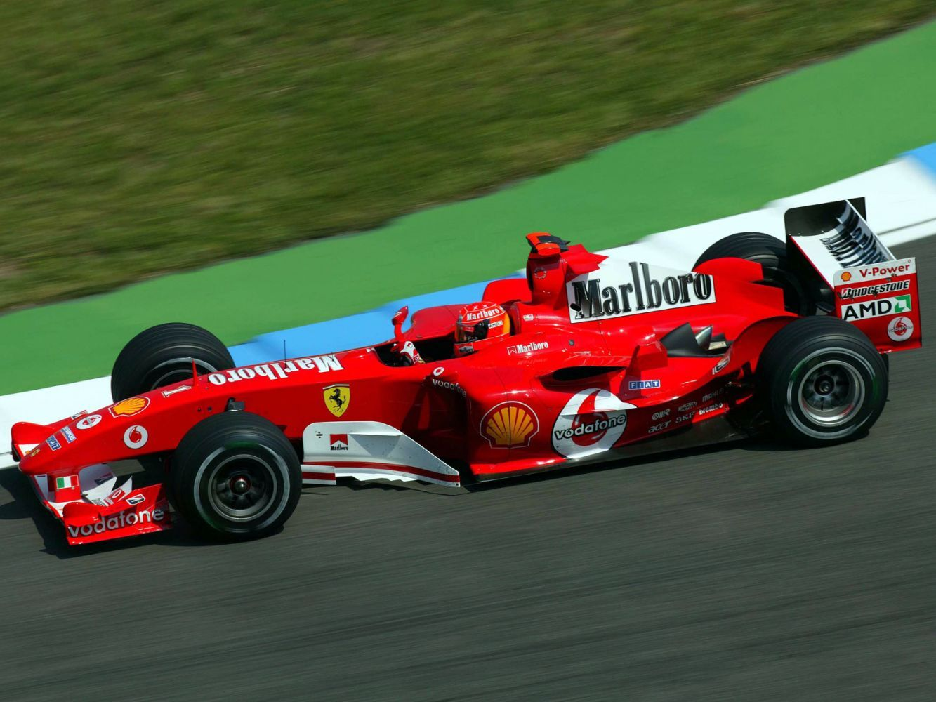 2004 Ferrari F2004 Formula One F 1 Race Racing F Wallpaper Formula
