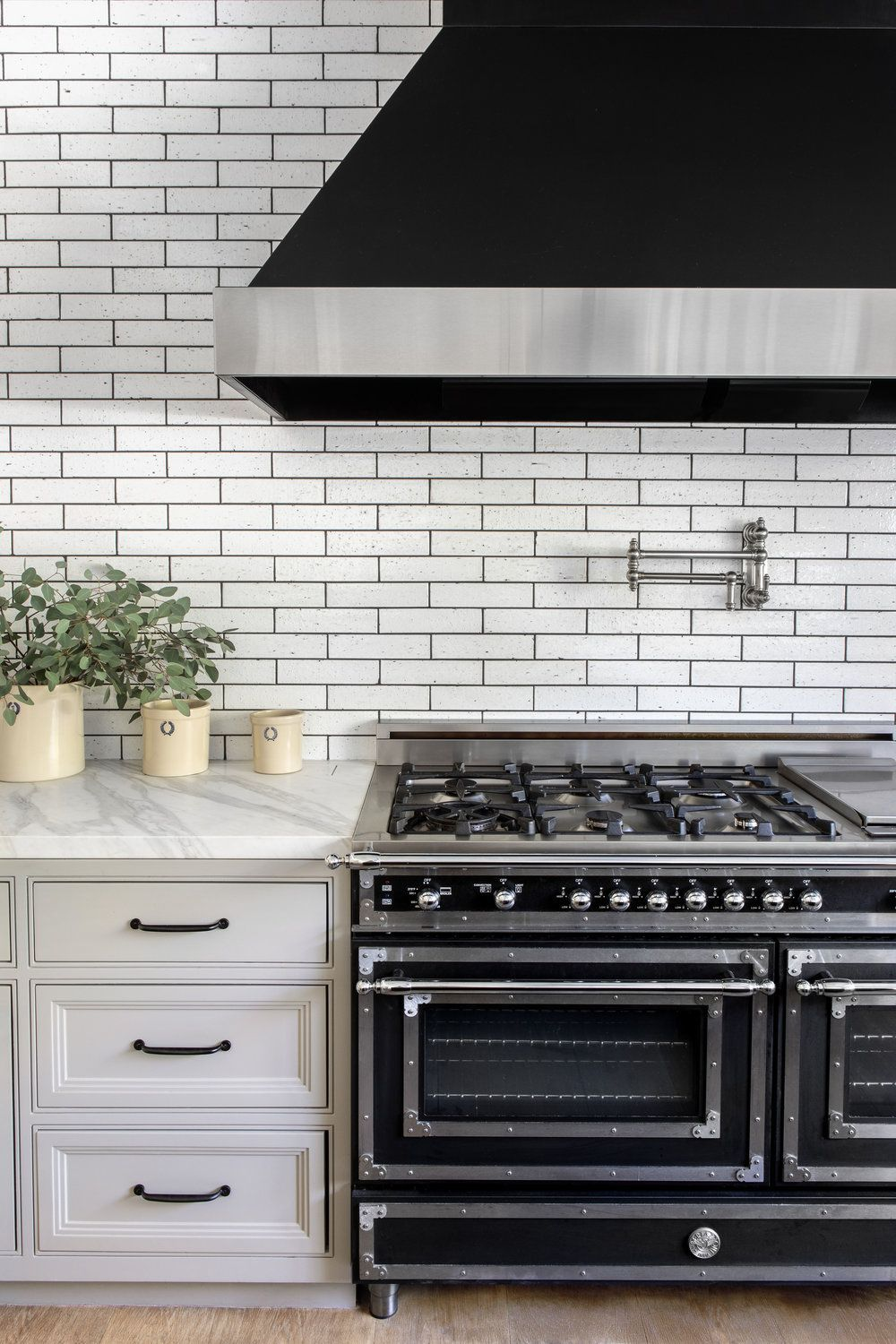 You Ll Want To Recreate These Creative Subway Tile Ideas In Your Own Kitchen Kitchen Backsplash Designs Rustic Kitchen Backsplash Kitchen Remodel