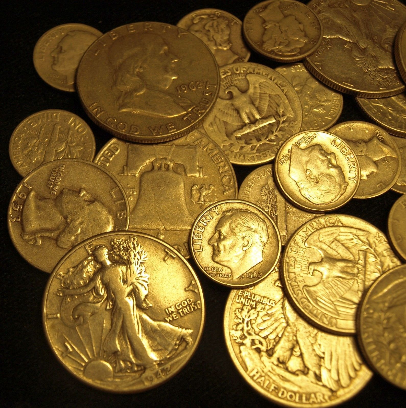1 Face Value Not Junk 90 Silver U S Coins Best Price On Ebay