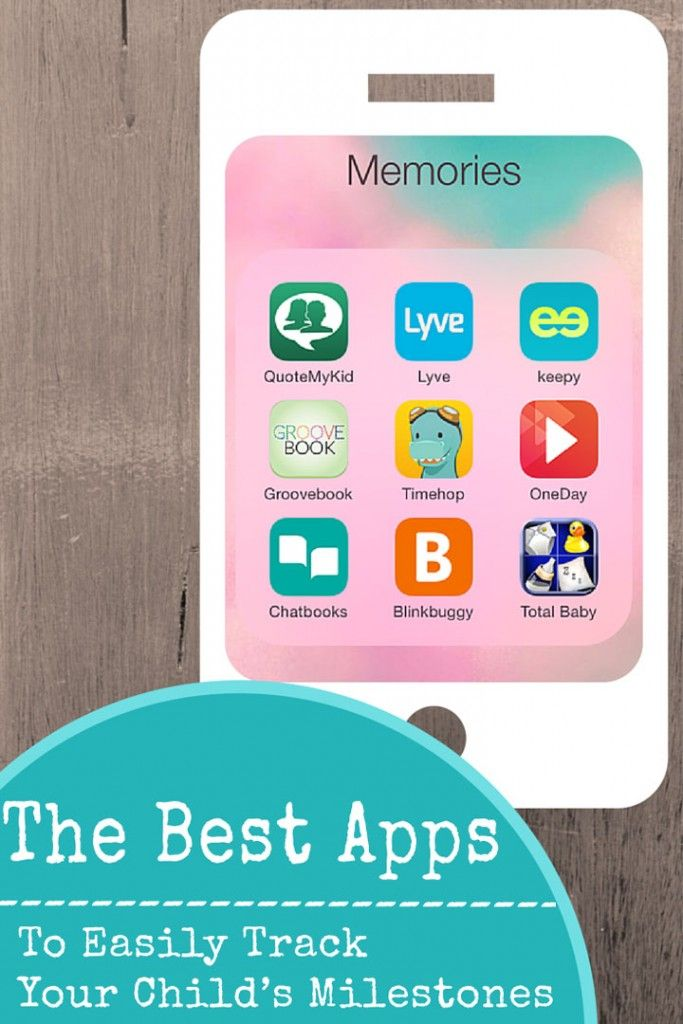 5 apps to easily record and track your child's milestones