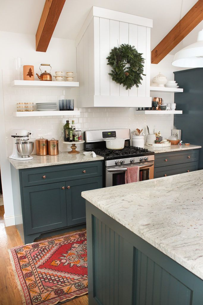 Choosing the Burrow Kitchen Cabinets - Redo kitchen cabinets, Kitchen cabinets, Kitchen cabinet styles, Green kitchen cabinets, Kitchen cabinet trends, Modern kitchen cabinets - This is a sponsored post by Lowe's Home Improvement  All opinions are 100% my own  When it comes to designing kitchens, it's really easy to focus on the pretties and the feel  But choosing cabinets (both the type and the layout) is really the crux of your kitchen design  And after designing a good many kitchens, I think it can be the most overwhelming part of the process! Making them actually fit in your space, choosing the function and layout you want, it all feels really complex  And I always get the most questions about cabinet dilemmas when I share our kitchens  I'm excited to dive deep into our kitchen cabinet process for our new kitchen at the Burrow  Today, I'm going to talk about how we chose the line and style of cabinets and then tomorrow, I'm going to share our detailed cabinet layout (yes, even down to where …