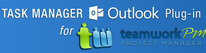 "Check out our new product ""Task Manager for Teamwork"" ‪#‎Outlook2010‬/ ‪#‎Outlook2013‬ Add-In build for Teamwork.com.  For more details visit our site @ http://www.agiline.com/TaskManagerOutlookAddin.aspx"