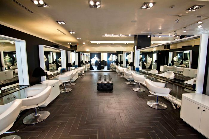 Where To Get Your Hair And Makeup Done For Prom Salon Interior Design Salon Interior Best Hair Salon
