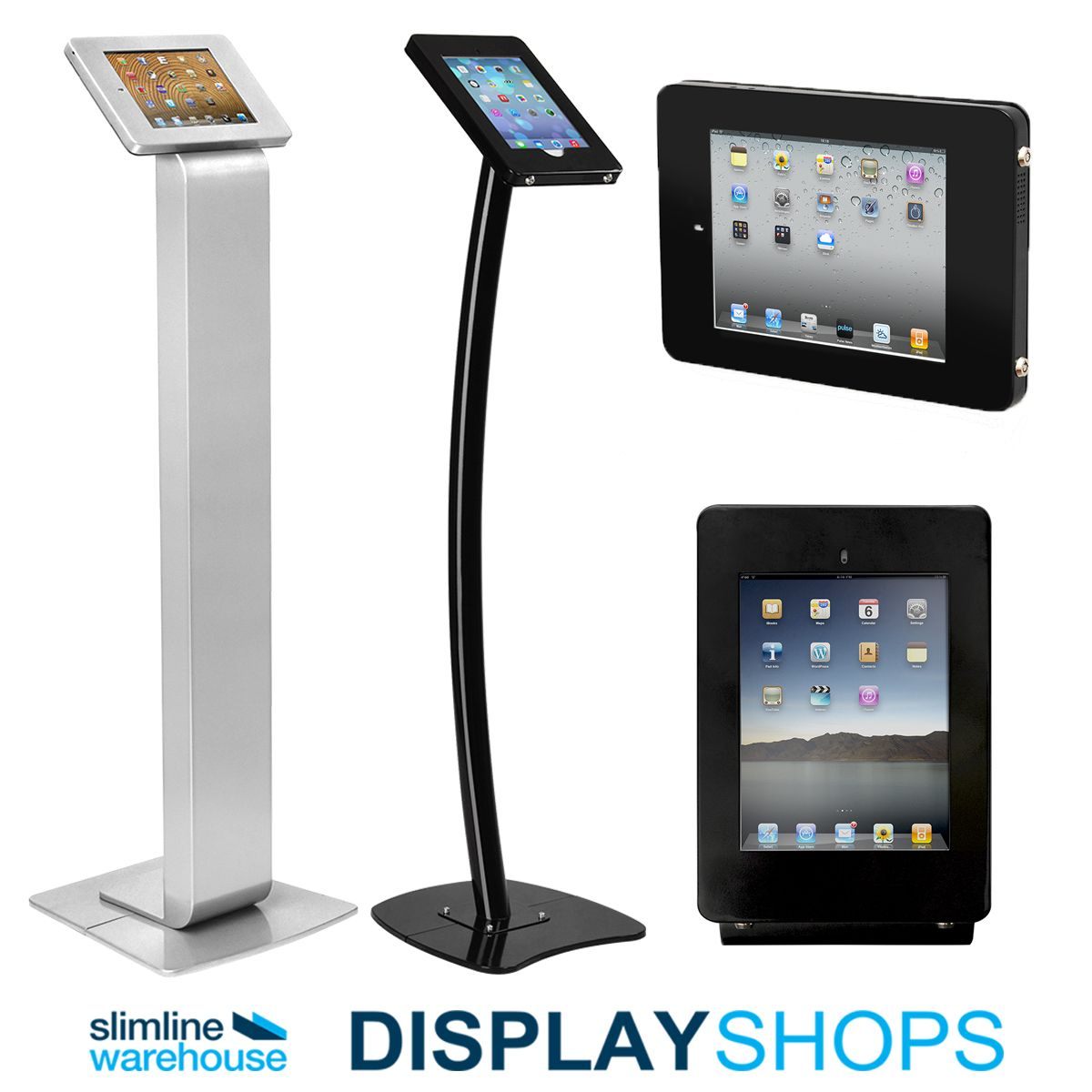 Our iPad stands and holders are now support the newest