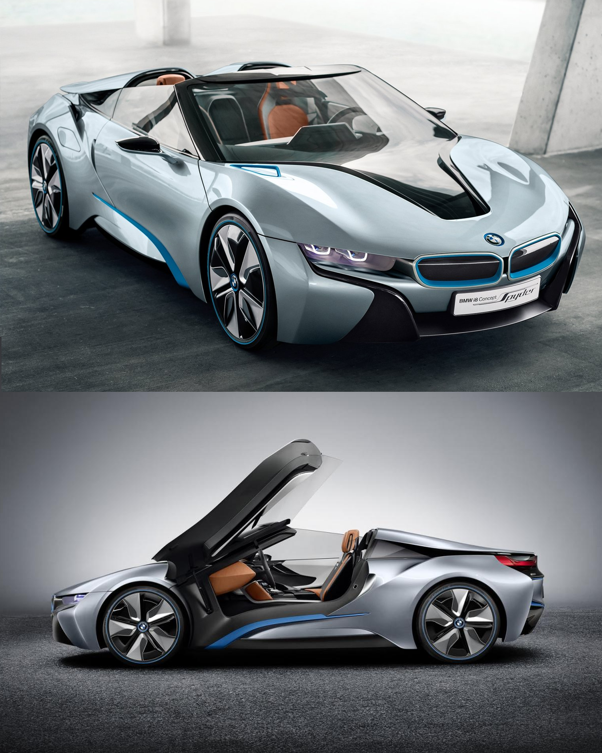 Bmw I8 Concept Spyder Takes To The Road Sounds Almost As Gorgeous