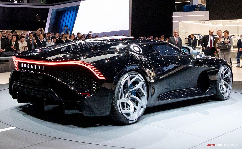 Bugatti 'La Voiture Noire' the Most Expensive New Car in