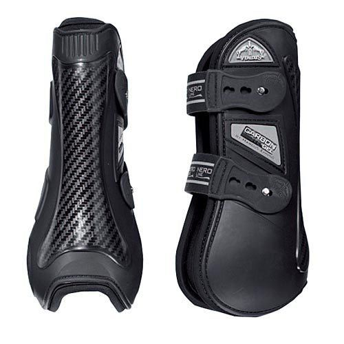 Carbon Gel Colored Front VEREDUS Horse Boots Made in Italy