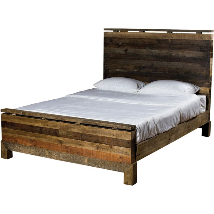 Tioga California King Bed Reclaimed Wood Beds Bed Wood Beds