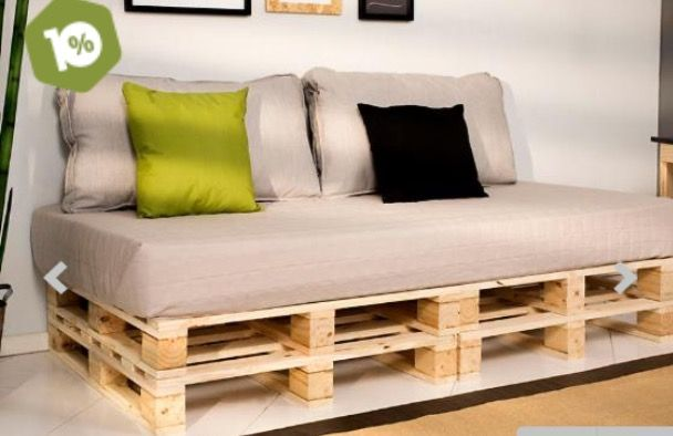 Pallet Daybed/Armless Sofa   Pallet Ideas And Easy Pallet Projects You Can  Try   Page 9 Of 29   Pallets Pro