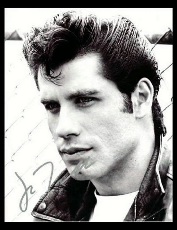 1970s Hairstyles For Men Lysander John Travolta Actors Grease