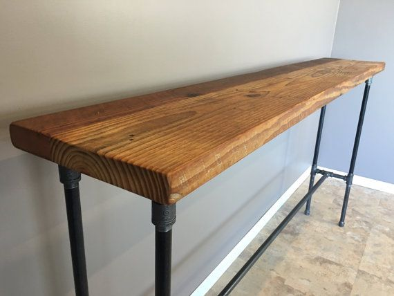 Entry Table Hallway Table Nook Table42 Inch Highbar Height Etsy