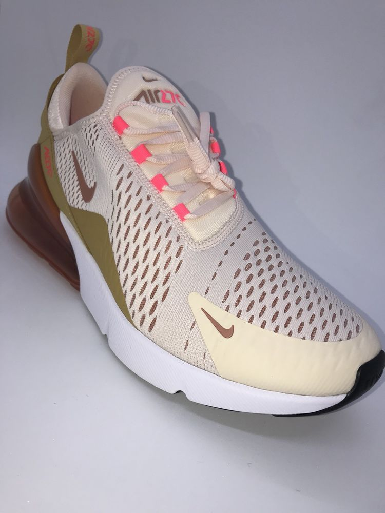separation shoes 25839 1bc24 Women's Nike Air Max 270 Guava Ice/Racer Pink/Wheat Gold ...