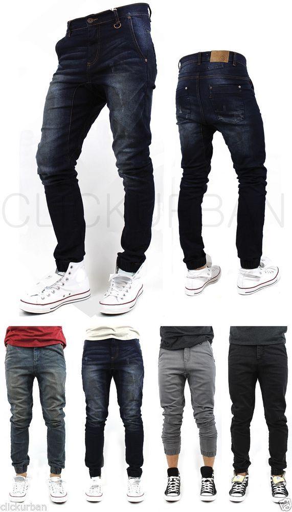 KAYDEN.K Elastic Cuff Stretch HAREM Jogger denim JEANs Pants trousers tapered #KAYDENK #HaremFit